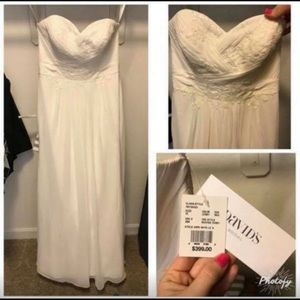 New, never worn wedding dress